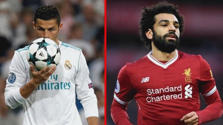 Ronaldo-Salah